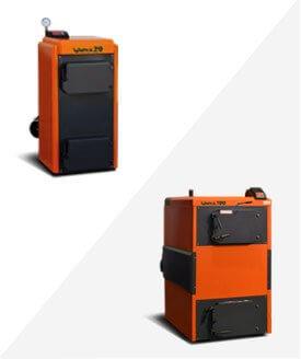 Пиролизные энергосберегающие котлы Koteko Unika 12-150кВт
